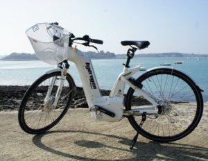 Vélo à hydrogène Engie